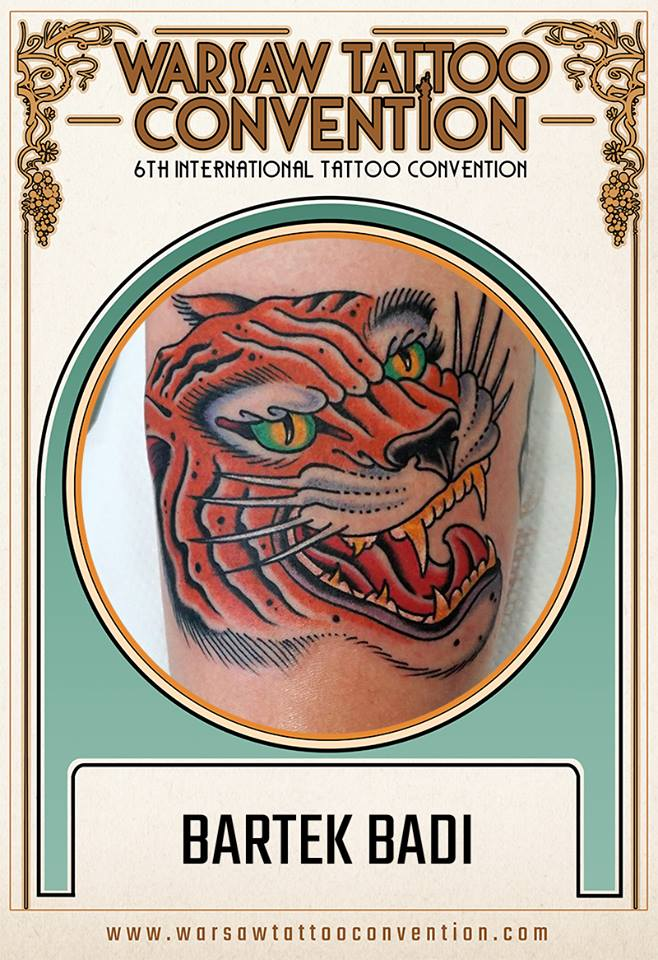 Kos Tattoo na Warsaw Tattoo Convention 2018!